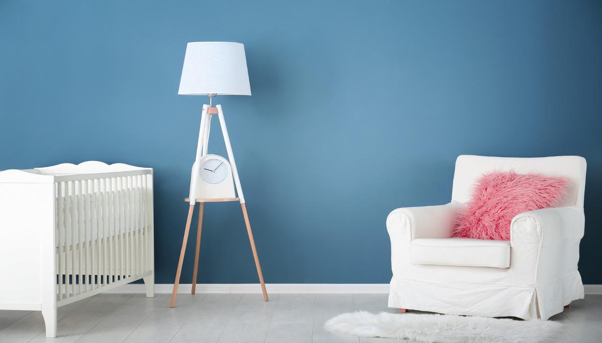 Peinture Chambre Bébé Jaune Et Gris quel bleu choisir pour une chambre d'enfant ?