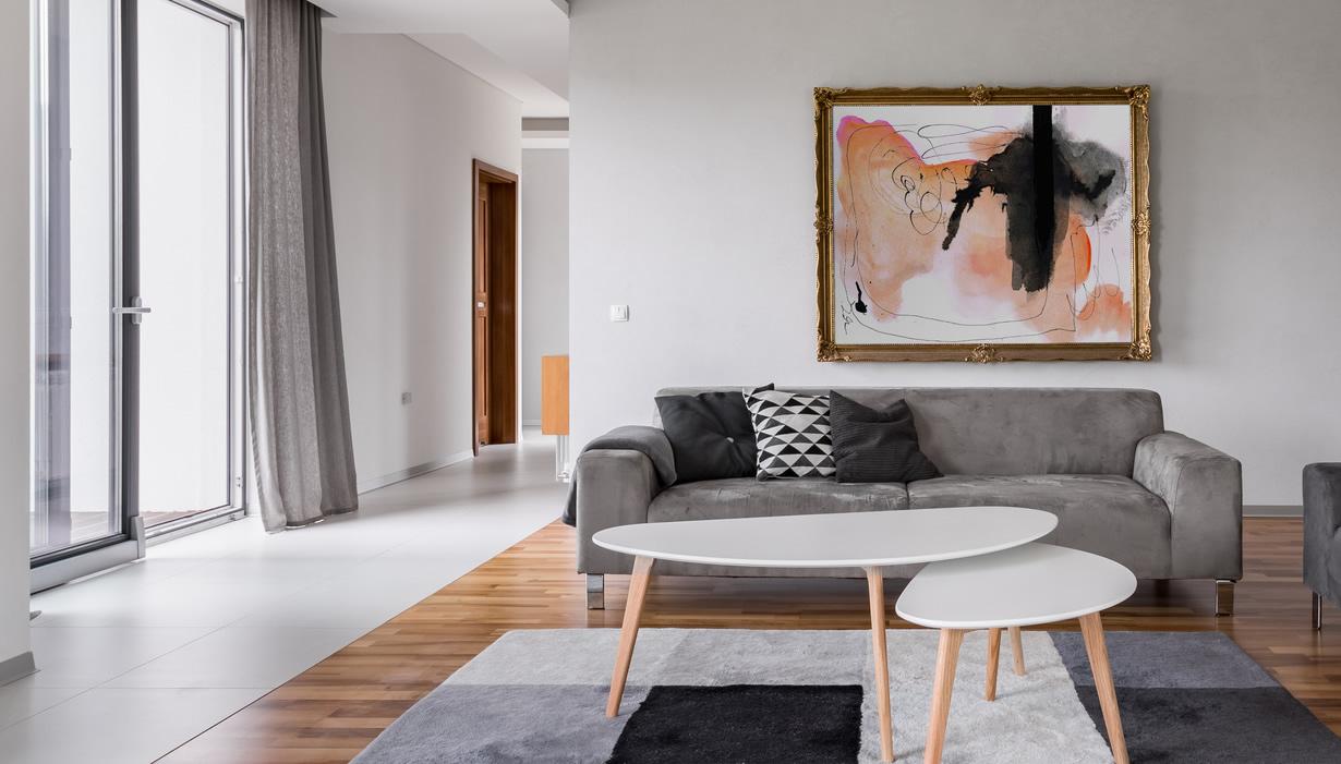 Deco Salon Rose Poudré Et Gris comment utiliser la peinture grise dans un salon ?