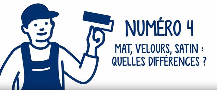Mat Velours Satin Quelles Différences